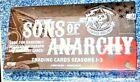 SONS OF ANARCHY Seasons 1-3 Trading Cards Cryptozoic Factory Sealed Hobby Box