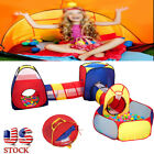 3in1 Kid Portable Tent Toy Balls Pit Pool Tunnels For Child Indoor Outdoor Gift