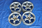 2006 PORSCHE BOXSTER 987 27L 1 18 INCH WHEELS RIMS SET OF 4 STAGGERED OEM