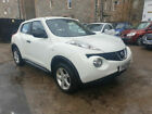 LARGER PHOTOS: NO RESERVE-2012 NISSAN JUKE WHITE PEARL-LOW MILES-FRESH MOT-VERY NICE EXAMPLE