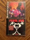 Pearl Jam Alive & Alice In Chains Unplugged CD'S