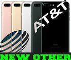 Apple iPhone 7 PLUS 32GB  128GB  256GB ATT CRICKET BLACKSILVERGOLD N O