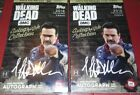 2018 Topps Walking Dead Autograph Collection Hobby Box lot 1 Encased Auto Per
