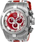 Invicta Watch Reserve Mens 53 mm White, Silver, Red Dial Model-26468