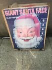 HUGE 25 X 36 Empire Lighted Blow Mold Santa Face Christmas Decor