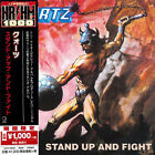 QUARTZ - STAND UP AND FIGHT, CD 2018 REISSUE UNIVERSAL JAPAN +OBI, HEAVY NEW