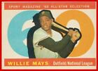Vintage Willie Mays Baseball Card Timeline: 1951-1974 23