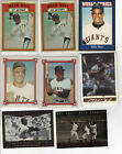 Vintage Willie Mays Baseball Card Timeline: 1951-1974 111