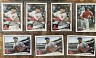 MOOKIE BETTS 2014 TOPPS UPDATE ROOKIE CARD LOT 7 CARDS RC MLB DEBUT PRO DEBUT