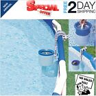 Swimming Pool Surface Debris Skimmer Wall Mount Intex Deluxe Above Ground Basket