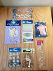 Lot of Disney Tinker Bell Scrapbooking Stickers Photo Corners  Ribbons