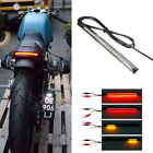 Motorcycle 12V 48 LED Integrated Brake Stop Turn Signal Tail Light Strip Bar