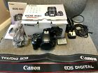 CANON EOS 450D BLACK DIGITAL CAMERA (BODY ONLY) KIT BOXED-FREE POSTAGE