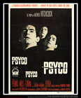 PSYCHO Alfred Hitchcock 39 x 55 Italian Two Sheet Movie Poster Original 1960