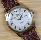 Vintage ATLANTIC WORLDMASTARUR Manual Wind 21J Pink Rose Gold Mens Watch