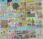 Scrapbooking Stickers Jolees Boutique Mixed Lot of 21 Packages No Duplicates
