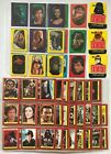 Star Wars ROTJ Topps 1983 Card and Sticker Set with Empty Wrappers Series 1