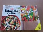 LOT OF 2 WEIGHT WATCHERS SHOPPING GUIDE Dining Out2 in 1 PLUS Eating Out Guide