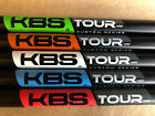 KBS Tour Custom Series Black Matte Wedge Shaft Red Blue White Orange Green