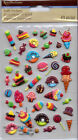 Recollections PUFFY Stickers Ice Cream Varieties Mini Desserts Sweet Treats