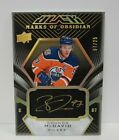 💥 07 25 2018-19 UD BLACK MARKS OF OBSIDIAN CONNOR McDAVID AUTOGRAPH