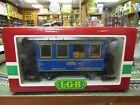 LGB 3013 STEYRTAL SPEISEWAGGON DINING CAR PRE OWNED BOXED G SCALE