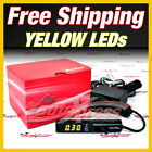 TURBO TIMER JDM NA & Turbo BLACK PEN Shaped Control Rich YELLOW LEDs Apexi-Style