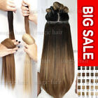 Tape In On 100% Remy Human Hair Extensions Skin Weft Blonde Ombre 60PCS US P354