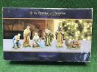 New In Box ROBERT STANLEY THE PROMISE OF CHRISTMAS NATIVITY DELUXE 6 PC