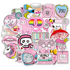 100 pcs Cute Cartoon Decorative Stickers For Laptop Motorcycle Skateboard Decal