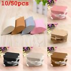 Present pouch Xmas Christmas Paper Candy Boxes Kraft Gift Bag Pillow Shape