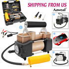 HEAVY DUTY Portable 12V Car Air Compressor Tire Inflator Auto Tyre Pump 150PSI