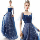 NEW Evening Formal Party Ball Gown Prom Bridesmaid Long Sequins Dress YSGZ139