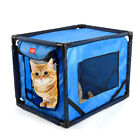 Pet Dog Cat Cave Bed Travel Carrier Crate Dog Pet Car Seat Dog Pet Kennel T7L1
