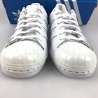 WOMENS ADIDAS ORIGINALS SUPERSTAR 80s Metal Toe White S76540 Sz 60 90