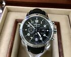 Breguet Marine Type XXI Flyback Chronograph 43mm Stainless- 3810ST -Box/Papers-