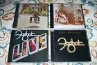 FOGHAT- FOGHAT- LIVE - FOOL FOR THE CITY - BEST OF - REMASTERED CD'S