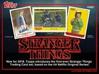 2018 Topps Stranger Things FACTORY SEALED Hobby 12 Box Case Free Shipping Sketch