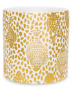 LILLY PULITZER  Porcelain Vase Heart and Sole Metallic Gold