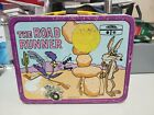 Vintage 1970s The Road Runner metal lunch box by Thermos