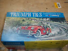 Hubley 1960 Triumph TR-3 model box,lid and instruction sheet only.