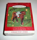 NEW HALLMARK 2001 A PONY FOR CHRISTMAS 4TH IN THE SERIES KEEPSAKE ORNAMENT