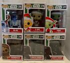 Funko POP! Star Wars Holiday Christmas Complete Set of (6) w CHASE - Mint Boxes