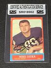 Mike Ditka Cards, Rookie Card and Autographed Memorabilia Guide 18