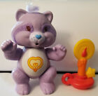 Vtg Care Bears Poseable Bright Heart Raccoon Figure with Accessory 1983 Kenner