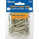 Jumbo 50 mm Silver Paper Clip 100ct