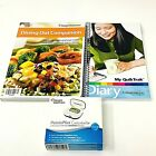 Weight Watchers PointsPlus Calculator Quick Trak Diary Dining Out Companion Book