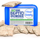 Septic Tank Treatment 12 Monthly Treatments One Flush Safe Green Bacteria a