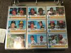 1979 TOPPS BASEBALL COMPLETE SET (1-726) OZZIE SMITH RC RYAN IN BINDER SHARP!