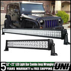 52INCH 700W LED Light Bar Combo+ 22 280W + 4 18W For Jeep Wrangler JK YJ TJ CJ